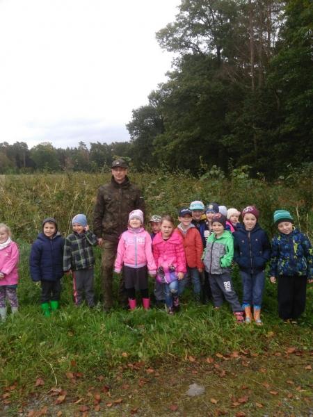 Wycieczka do Szkółki Leśnej w Krępsku