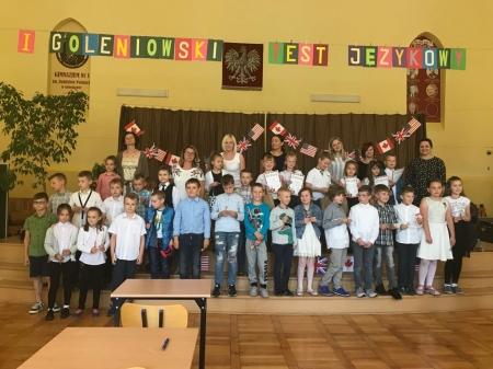 Goleniowski Test językowy dla klas 2 i 3 szkół podstawowych