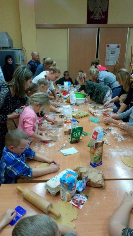 Oddział przedszkolny przygotowuje pierniki