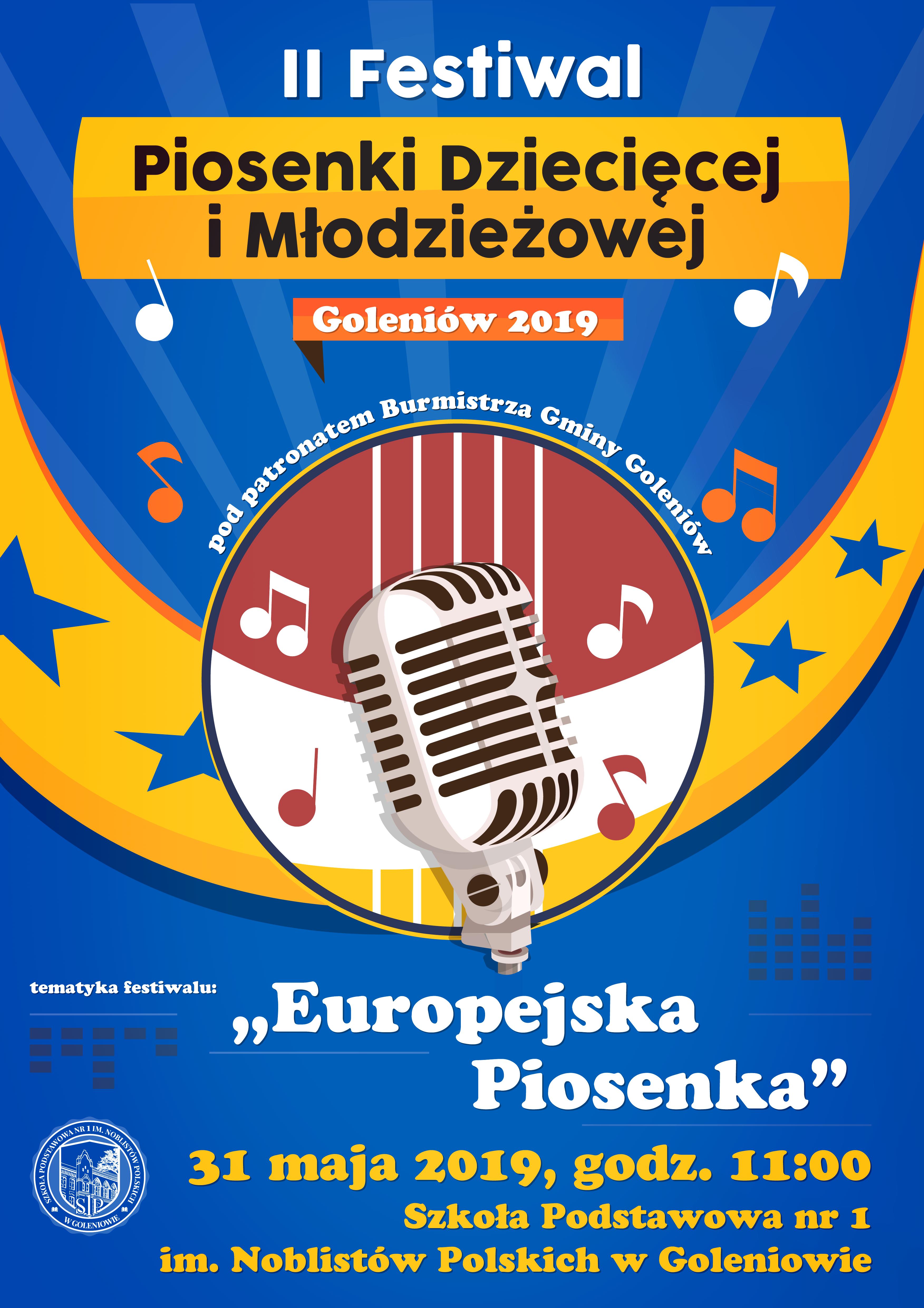 II Festiwal Piosenki Dziecięcej i Młodzieżowej