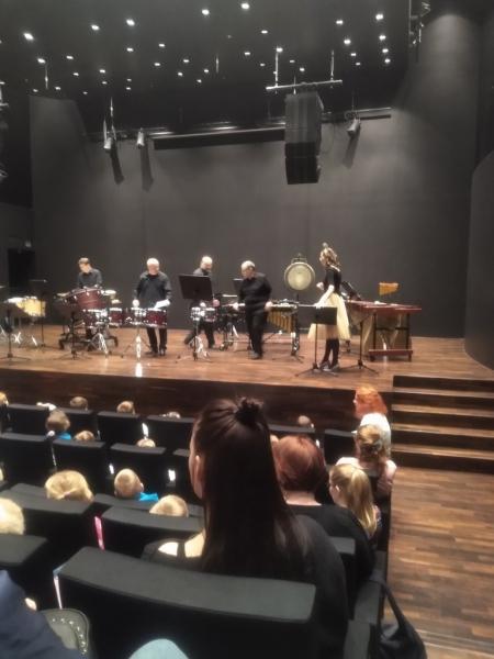 Przedszkole w filharmonii.