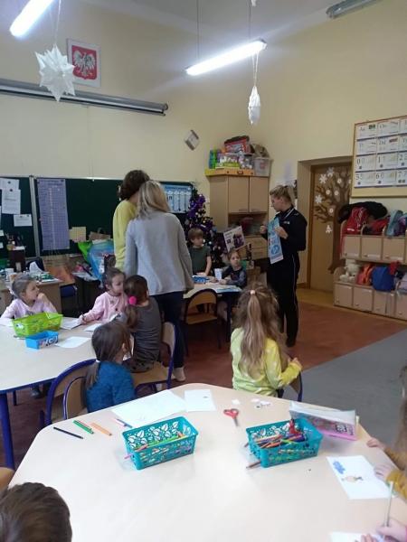 Zajęcia w oddziale przedszkolnym