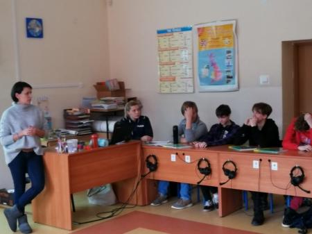 Zajęcia w klasie 8