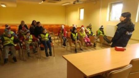 Nasz Oddział Przedszkolny odwiedził Komendę Powiatową Policji